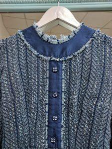 пошив платья шанел