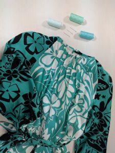 пошив платья с регланом